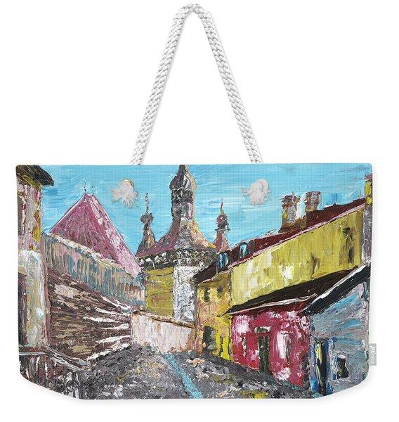 Sighisoara Draculas Home Weekender Tote Bag