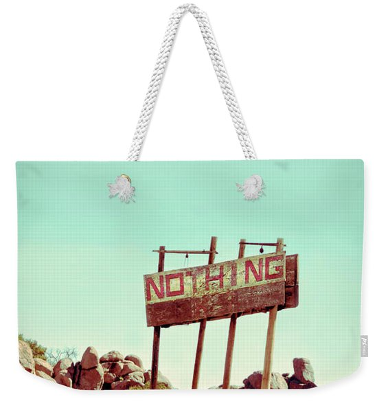 Sign For Nothing Weekender Tote Bag