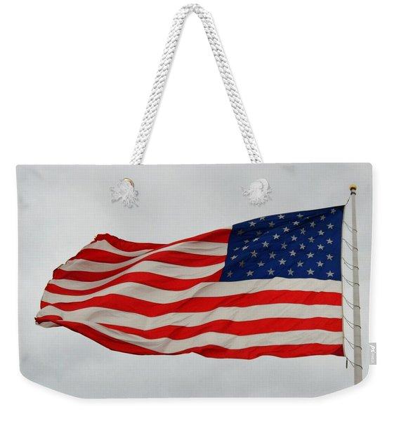 Sign Of Freedom Weekender Tote Bag