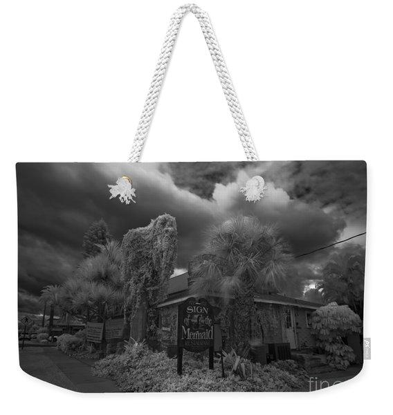 Sign Of The Mermaid Weekender Tote Bag