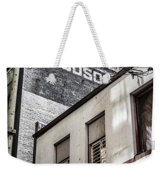 Signage Weekender Tote Bag