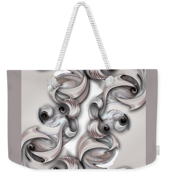 Significance And Shape Weekender Tote Bag