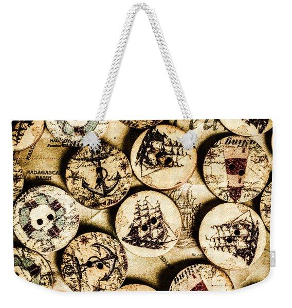 Signs Of Seafaring Weekender Tote Bag