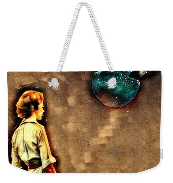 Silence Must Be Heard Weekender Tote Bag