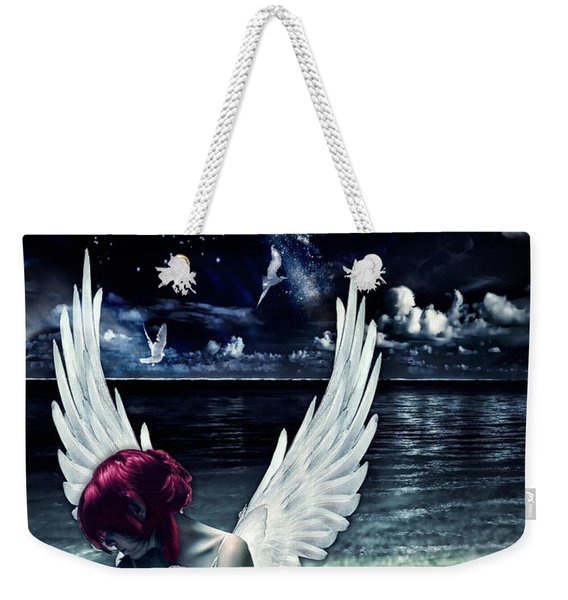 Silence Of An Angel Weekender Tote Bag