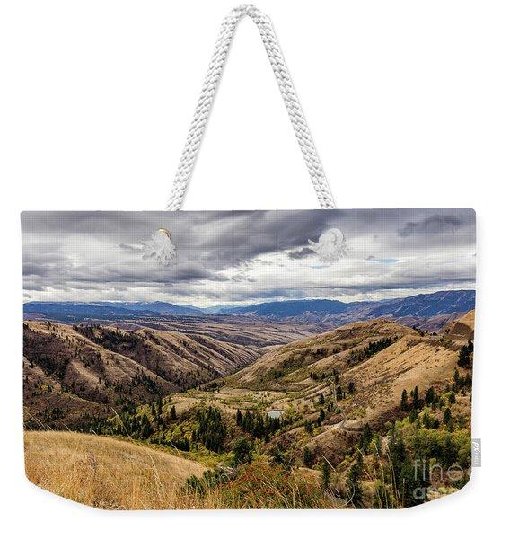 Silence Of Whitebird Canyon Idaho Journey Landscape Photography By Kaylyn Franks  Weekender Tote Bag