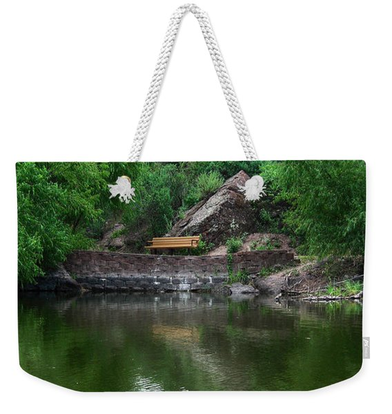 Silent Company Weekender Tote Bag