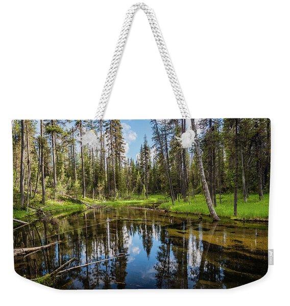 Silent Creek Weekender Tote Bag