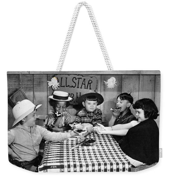 Little Rascals Weekender Tote Bag