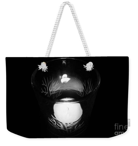 Silent Night Light Weekender Tote Bag