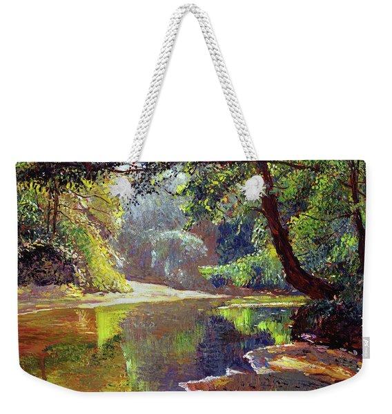 Silent River Weekender Tote Bag