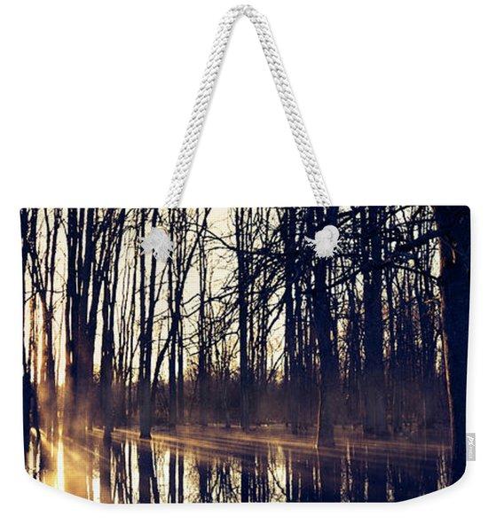 Silent Woods No 4 Weekender Tote Bag