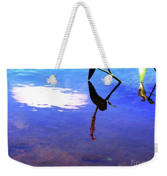 Silhouette Aquatic Fish Weekender Tote Bag