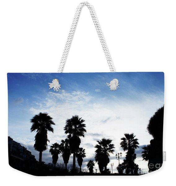 Silhouette In Tropea Weekender Tote Bag
