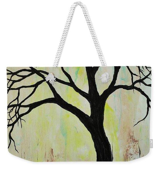 Silhouette Tree 2018 Weekender Tote Bag