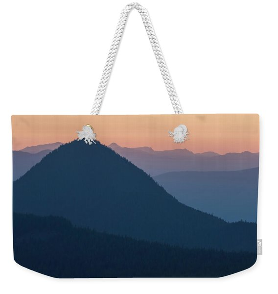 Silhouettes At Sunset, No. 2 Weekender Tote Bag