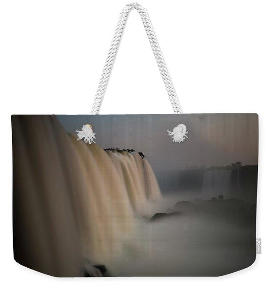 Silk Torrent Weekender Tote Bag