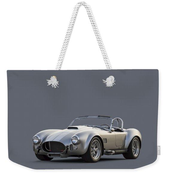 Silver Ac Cobra Weekender Tote Bag