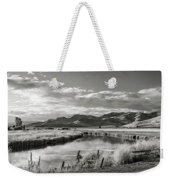 Silver Creek Weekender Tote Bag