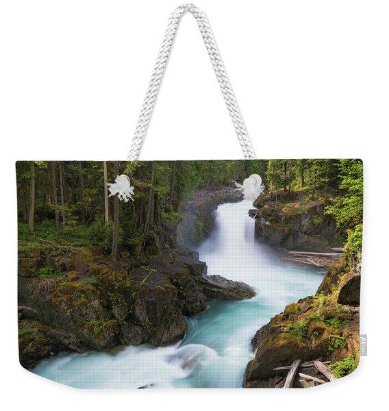 Silver Falls Washington Weekender Tote Bag