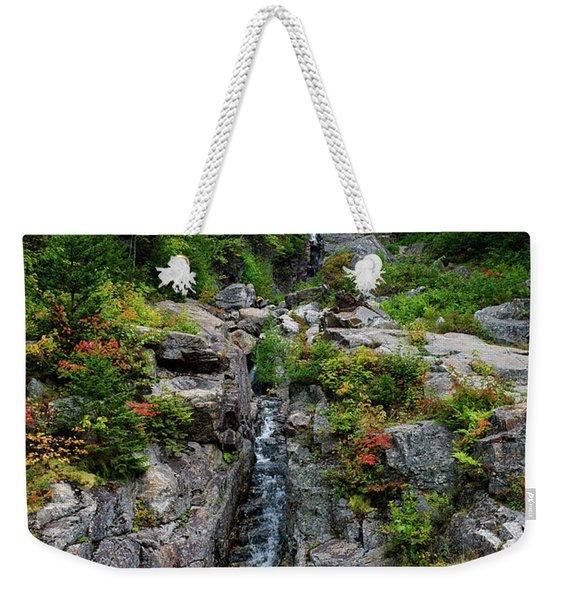 Silver Flume Weekender Tote Bag