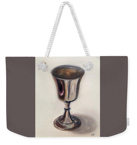 Silver Goblet Weekender Tote Bag