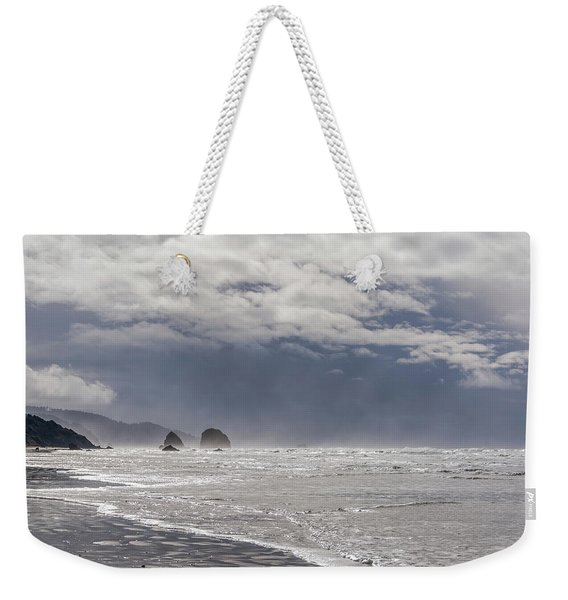 Silver Point Sea Stacks Weekender Tote Bag