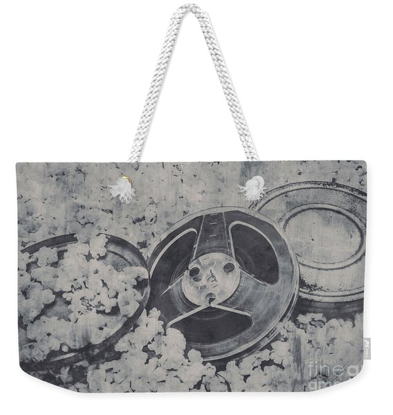Silver Screen Film Noir Weekender Tote Bag