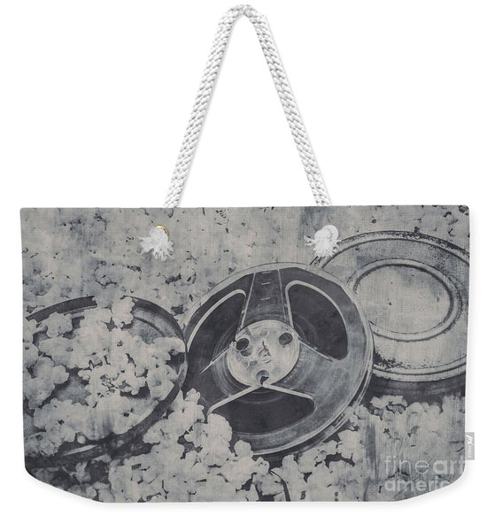 Silver Screen Film Noir Weekender Tote Bag