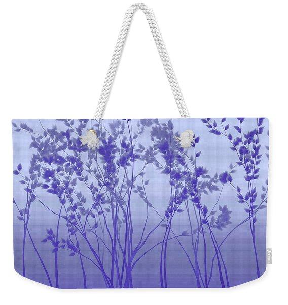 Silver Twilight Weekender Tote Bag