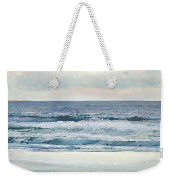Silvery Morn Weekender Tote Bag