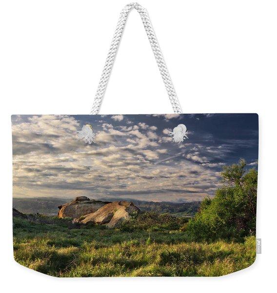 Simi Valley Overlook Weekender Tote Bag