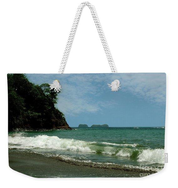 Simple Costa Rica Beach Weekender Tote Bag
