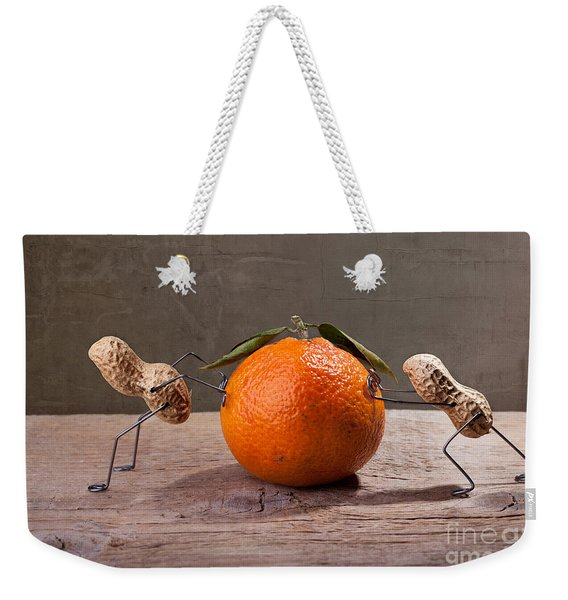 Simple Things - Antagonism Weekender Tote Bag