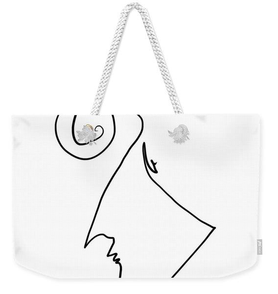 Simple Thought Weekender Tote Bag