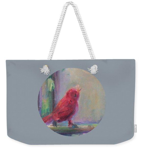 Sing Little Bird Weekender Tote Bag