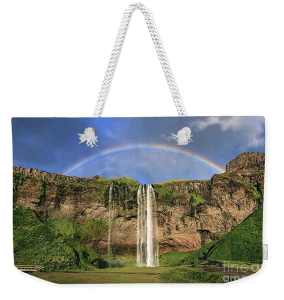 Sing Me A Rainbow Weekender Tote Bag