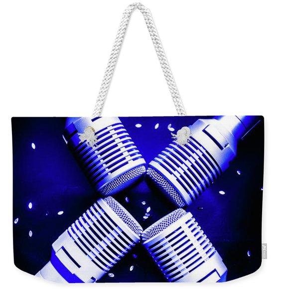 Sing Star Weekender Tote Bag