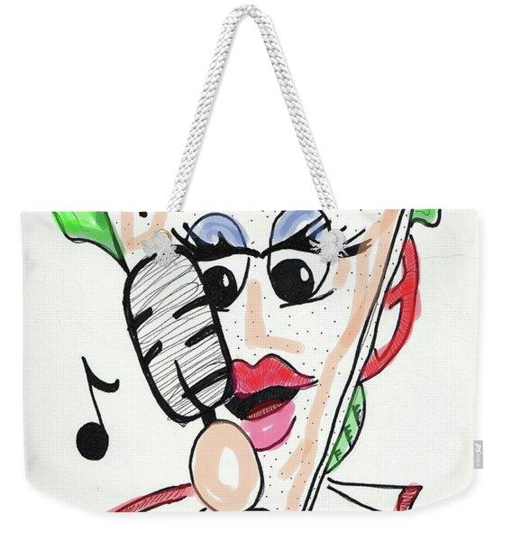 Singer Sandwich Weekender Tote Bag