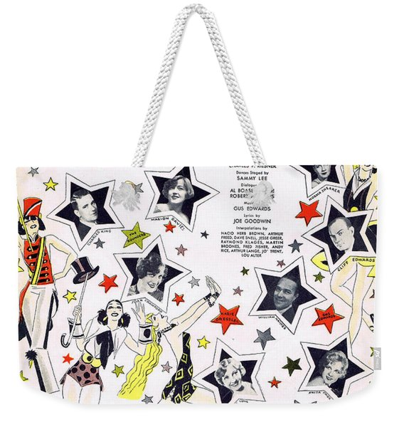 Singin' In The Rain Weekender Tote Bag