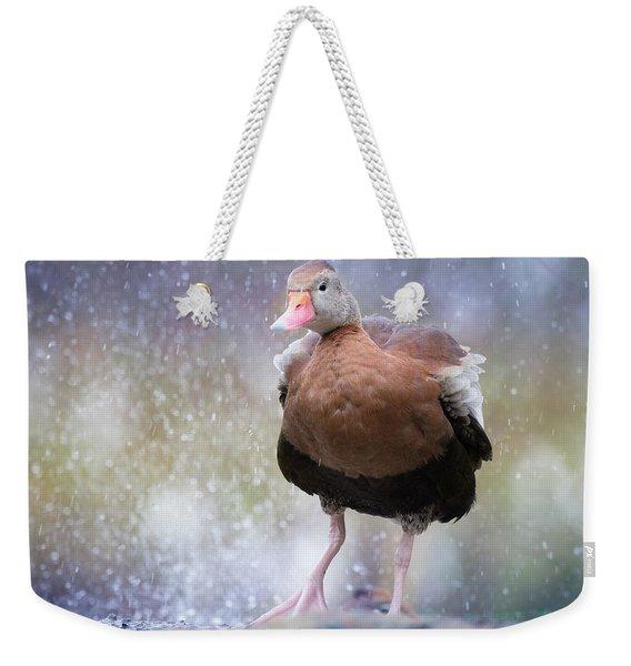 Singing In The Rain Weekender Tote Bag