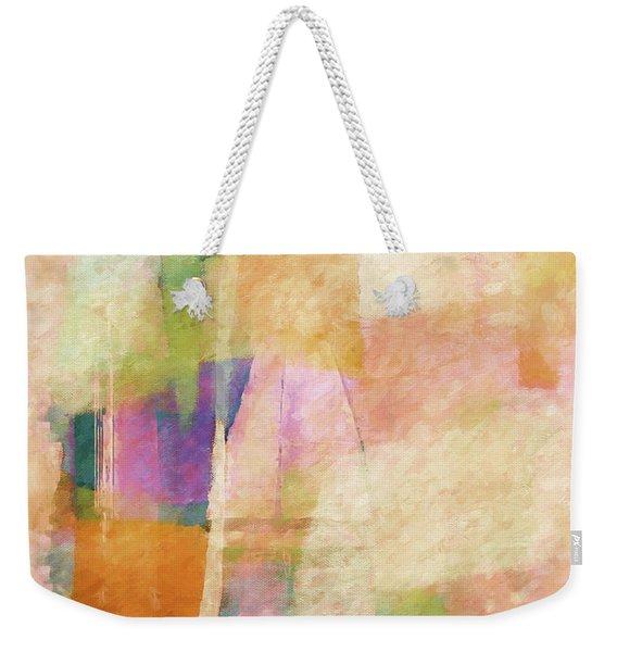 Singing Light Weekender Tote Bag