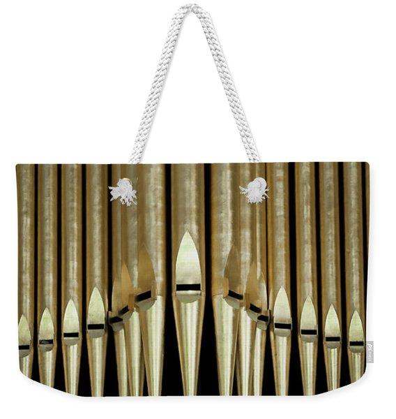 Singing Pipes Weekender Tote Bag