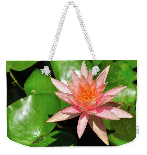 Single Flower Weekender Tote Bag