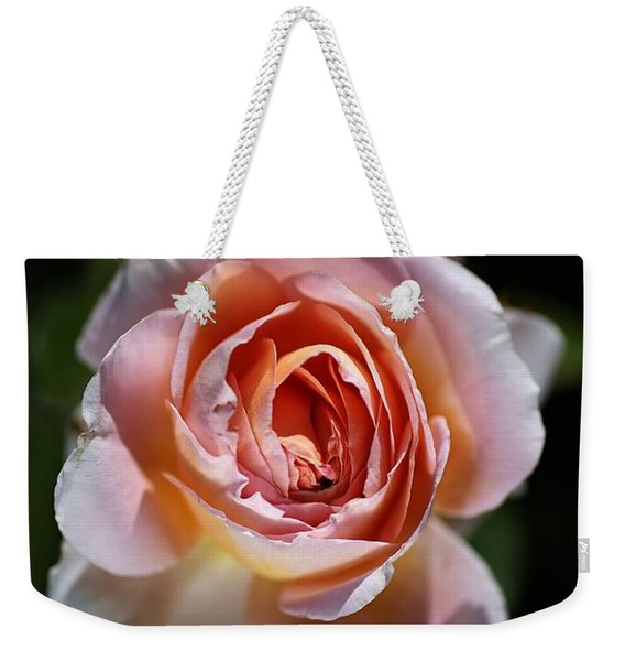 Single Romantic Rose  Weekender Tote Bag