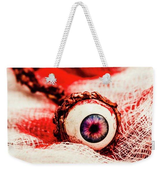 Sinister Sight Weekender Tote Bag