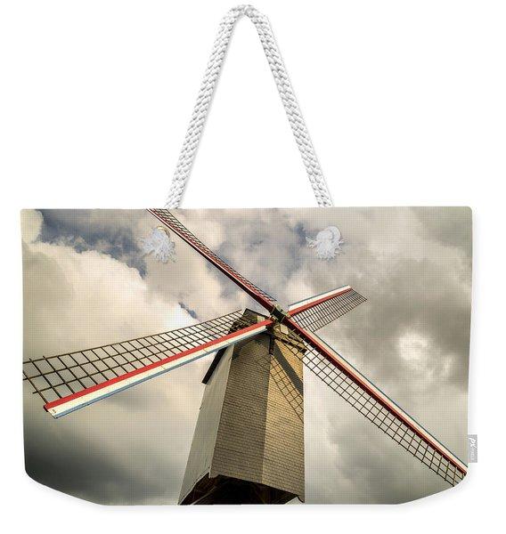 Sint Janshuismolen Windmill 2 Weekender Tote Bag