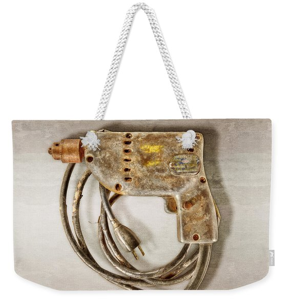 Sioux Drill Motor 1/4 Inch Weekender Tote Bag
