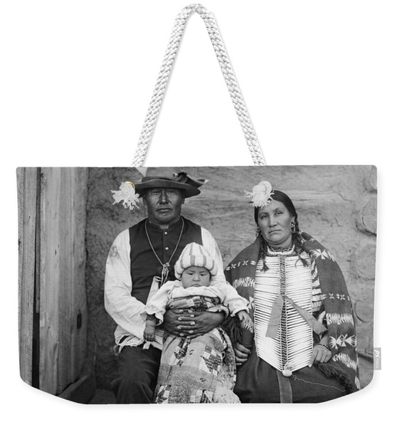 Sioux Family, C1908 Weekender Tote Bag