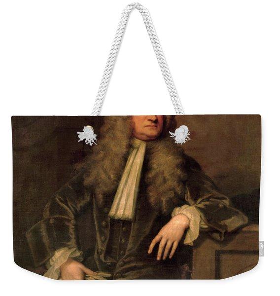 Sir Isaac Newton  Weekender Tote Bag